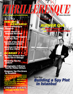 Thrilleresque is a free publication dedicated to thriller and mystery authors and their fans.